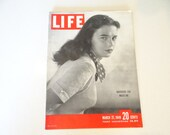 1949 Life Magazine, March 21, Wardrobe for Madeline