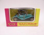 MIB Vintage Lesney Matchbox Y-14 Models of Yesteryear 1911 Maxwell Roadster Diecast Car in Original Box