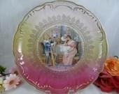 Large Vintage Blenheim China Germany Hanging Cabinet Plate