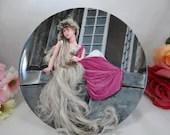 "1982  Konigzeit  ""Rapunzel"" Fairy Tale Plate Limited Edition"