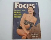 February 1957 Focus Pocket Sized Magazine - Back of the Barn Morals