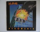 Plays Well 1983 Def Leppard Pyromania Mercury Records Vinyl LP Record Album 422-810 308-8 M-1 Classic Heavy Metal