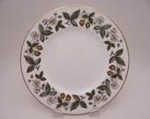 "Near Mint Vintage Wedgwood English Bone China ""Strawberry Hill"" Salad Plate - 12 available"