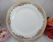 Rare 1930s Charles Ahrenfeldt Limoges France Bread and Butter Side Plates  4 available