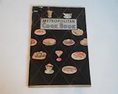 1950s Mid Century Metropolitan Cook Book Recipe Booklet a Breakfast to Dinner Cookbook with Recipes for Pastry Bread Meat Desserts