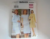 Vintage Butterick #6455 Sewing Pattern - Sizes 18 20 22  - Misses Short Sleeve Knee Length Dress and Long Sleeve Jacket Suit