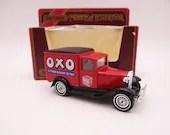 "MIB Vintage Lesney Matchbox Y-22 Models of Yesteryear ""OXO"" 1930 Ford Model ""A"" Van Diecast Car in Original Box"