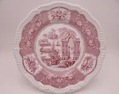 """Vintage Spode Archive Collection Regency Series Dinner Plate """"Pagoda"""""""