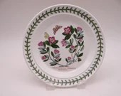 """Vintage 1970s Portmeirion Botanic Garden Bread and Butter Plate """"Rhododendron"""" Made in England - 4 Available"""