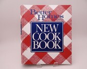 Vintage 1989 Better Homes and Gardens New Cookbook Hardcover Binder - 20 Sections - Desserts Eggs Sauces Beverages Barbecue Appetizers Snack