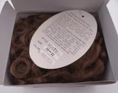 """Playhouse Collection Heather Size 10-11"""" Color Light Brown Doll Wig - NIB - New in Box"""