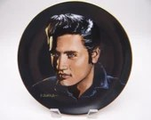 "Vintage Elvis Presley Delphi Portraits of the King Series ""Love Me Tender"" Limited Edition Collector Plate"
