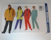Vintage Butterick Pattern #5890 Size 22W 24W 26W Women's Activewear Jacket Top and Pant Sewing Pattern - Fast & Easy Pattern