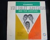"""Original US Release Spin-o-Rama Records Vinyl Record Album """"Starring The Isley Brothers and The Chiffons M-127 Vinyl LP Album"""