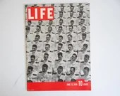 Vintage 1939 Life Magazine June 12 Annapolis Commencement - Indianapolis Speedway Death - Antarctica