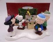 "Hallmark Keepsake ""A Snoopy Christmas"" Ornament Set with Original Box"