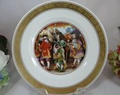 """1975 Royal Copenhagen Hans Christian Andersen """"The Nightingale"""" Collector Plate - Private Commision"""