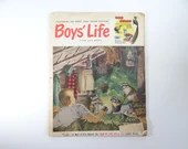 May 1953 Boys' Life Magazine - Fire Guards - US Royal Bicycle Tire Ad - Tee Pee Camp- Coca-Cola Print Ad  - Boy Scout Outfits Gifts Comics