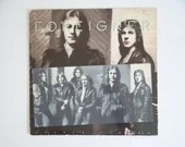 """Plays Well 1978 Vintage Foreigner """"Double Vision"""" SD 1999 LP  Vinyl Album from Atlantic Records Classic Rock Album"""