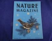 Vintage 1949 Nature Magazine - December