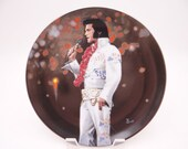 "Vintage Elvis Presley Delphi Performance Collection Series ""Aloha From Hawaii"" Limited Edition Collector Plate"