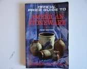 First Edition Official Guide to American Stoneware by George Sullivan Softcover Reference Book