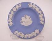 "Vintage Wedgwood Jasperware Blue ""Aurora"" Ashtray"