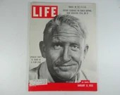 1955 Life Magazine, January 25,  Spencer Tracy: 25 Years as a Film Star