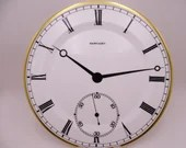 """Vintage Wedgwood English Bone China """"Pocketwatch"""" Large Plate Charger for Ralph Lauren Watch Plate"""