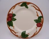 Vintage 1960s  Franciscan Ware Apple Dinner Plate - 5 available