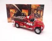 MIB Vintage Matchbox YFE01 Models of Yesteryear 1920 Mack AC Fire Truck Diecast Model Fire Engine
