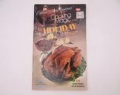 """Vintage Culinary Arts Institute Recipe Booklet Cooking Magic Series """"The Holiday Cookbook"""""""