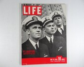 1943 Life Magazine Wartime Issue, May 10,  PT Skippers Their Story - Jitterbug - Tunisia