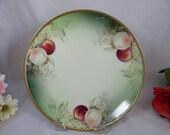 "Vintage Hand Painted Artist Signed ""Harris"" Thomas Sevres Bavaria Still Life Plate - Lovely"