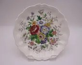 """Vintage Royal Doulton English Bone China """"Malvern"""" Replacement Teacup Saucer D6197 - 8 available"""