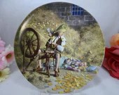 "1981 Konigzeit ""Rumpelstiltskin"" Fairy Tale Plate Limited Edition"