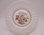 """Vintage Royal Doulton English Bone China """"Grantham"""" Salad or Luncheon Plate - 5 available"""