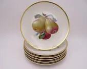 Vintage Rosenthal Aida Set of 6 Fruit Plates