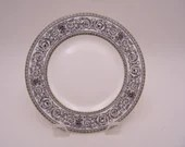 """Vintage Royal Doulton Mid Century English Bone China """"Baronet"""" Bread and Butter Plate  -  7 Available"""
