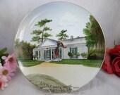 Vintage FDR Rooseevelt  Little White House Warm Springs, GA Souvenir Plate