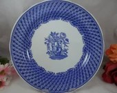 """Spode Blue Room Collection Blue and White Dinner Plate """"Portland Vase"""""""