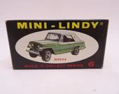 """Vintage Mini-Lindy Lindberg Line Build 'n' Collect 6 """"Jeepster"""" Toy Car in Original Box"""