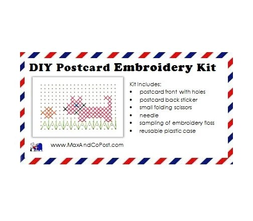 DIY Embroidery Postcard K...