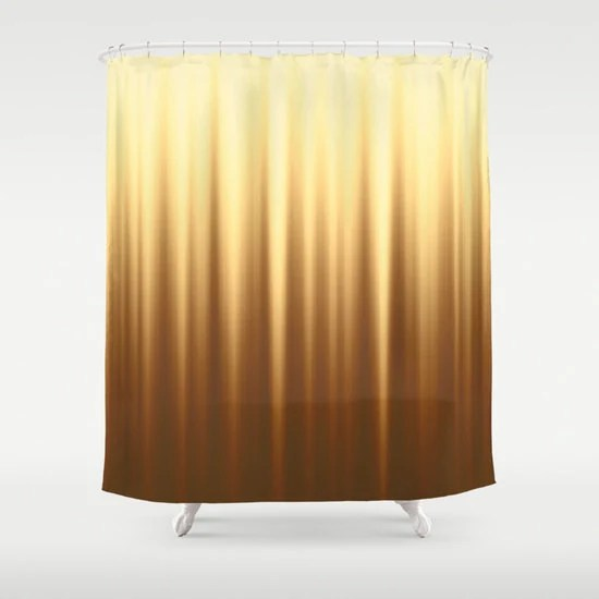 brown shower curtain striped curtains solid yellow curtain abstract curtain wave curtain brown curtain nature colors 60x72 inch 71x74 inch