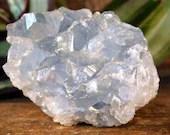 Celestite Cluster, Celestite Geode, Celestite Crystal Cluster, Crown Chakra crystal, Calming Crystal, Crystal for Prophetic Dreams ~2140