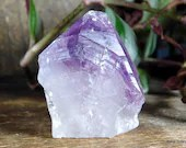 Amethyst Point Crystal Tower, Stress Relief Crystal, Purple Amethyst Crystal ~1903