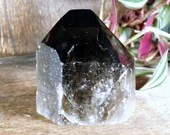 Raw Smoky Quartz, Black Smoky Quartz Tower, Crystal Tower ~1861