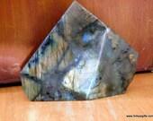 Rainbow Labradorite Stone, Raw Labradorite Golden Labradorite Crystals, Polished Labradorite ~1699