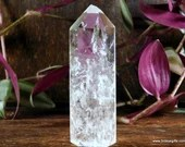 Polished Quartz Tower, Crystal Tower, Clear Quartz ~1702