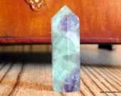 Rainbow Fluorite Crystal Tower ~1531